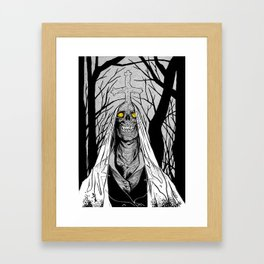 Forest Ghost Framed Art Print