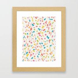 Colorful Animal Print Framed Art Print