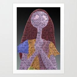 Sally's Song Art Print