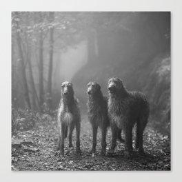 Three Scots Canvas Print