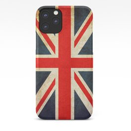 Vintage Union Jack British Flag iPhone Case