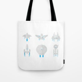 Future Space Planes Tote Bag