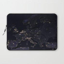 Europe at Night Laptop Sleeve