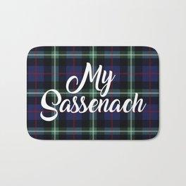 My Sassenach - Blue & Green Bath Mat