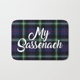 My Sassenach - Blue & Green Bath Mat