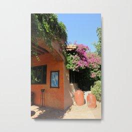 Baja Buildings Metal Print