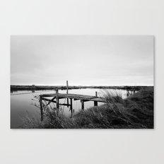 The Whitebait Stand Canvas Print