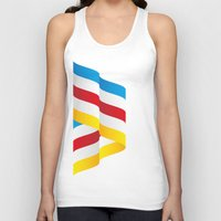 flag Tank Tops featuring Flag by Kexit guys