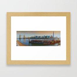 LONDON THEMES Framed Art Print