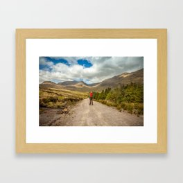 Connemara is waiting Framed Art Print