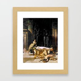 The Death Of Cleopatra Framed Art Print