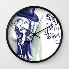 she's just (a) dandy Wall Clock