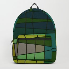 Green Pattern Turtle Backpack