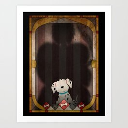 Shadow Collection, Series 1 - Bone Art Print
