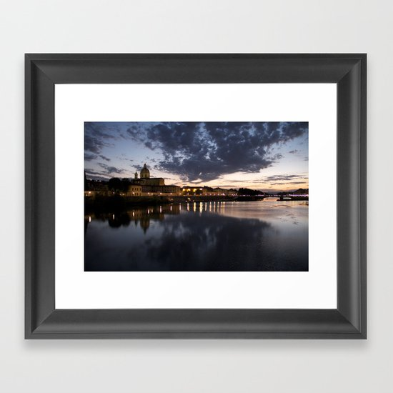Breathtaking Italy Framed Art Print