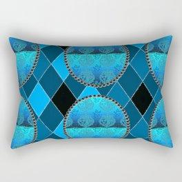 FDL BLUE Holiday Pattern Rectangular Pillow