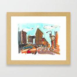 The Flatiron Framed Art Print
