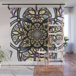 The Art Of Stain Glass Wall Mural
