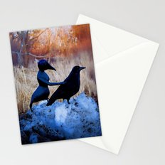 Crow People Stationery Cards