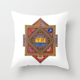 Meditations on Serenity Throw Pillow