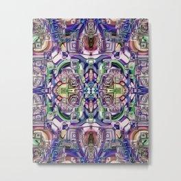 Ridged Patterns 2 C Metal Print