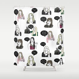 Beverly Hills Housewives Shower Curtain