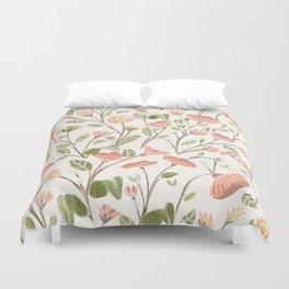 Spring Floral Pattern Duvet Cover
