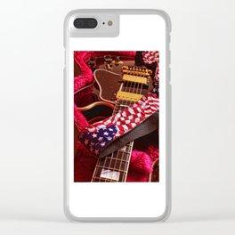 Three O'clock Blues Clear iPhone Case