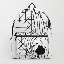 Exhausted Face Backpack