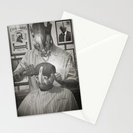 Cyber Barber Stationery Cards