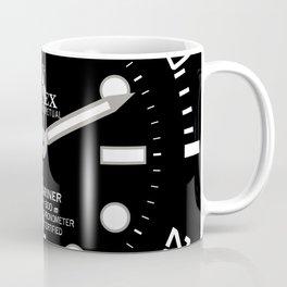 Rolex Submariner Face 114060 Black Dial Coffee Mug