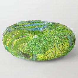 Landscape of My Heart (segment 1) Floor Pillow