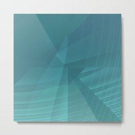Mystical Blue Metal Print