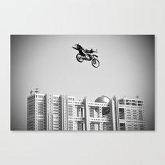 Kenny Over Odaiba, FMX Japan Canvas Print