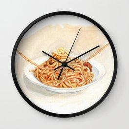 Pasta love Wall Clock
