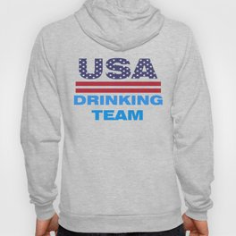 Funny Independence Day Shirt USA Drinking Team 4th of July Hoody