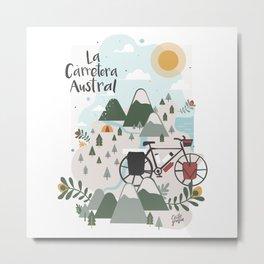 La Carretera Austral Metal Print