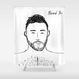 Beard Boy: Andres Shower Curtain