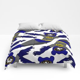 Flying LOVE Bear Bat Comforters