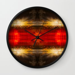 Sedona lights geometry IV Wall Clock