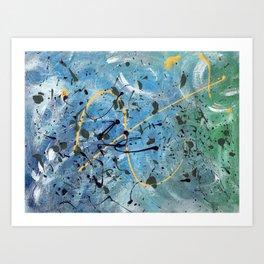 Ocean Viewfinding Art Print