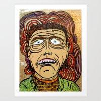danny ivan Art Prints featuring Ivan by Patty Hogan
