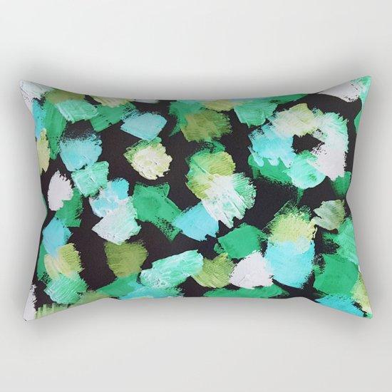 Abstract #2.2 - Petals Rectangular Pillow