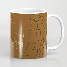 African American woman magic melanin beauty  Coffee Mug