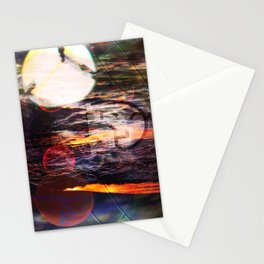 Oscillation Night Stationery Cards