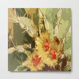 Cactus Beauty Metal Print