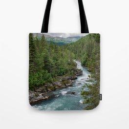Alaska River Canyon - II Tote Bag