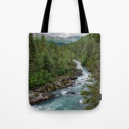 Alaska River Canyon - II Tote Bag