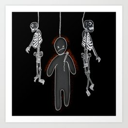 Nuclear Family Art Print