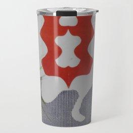 Grabajo dentro rojo Travel Mug